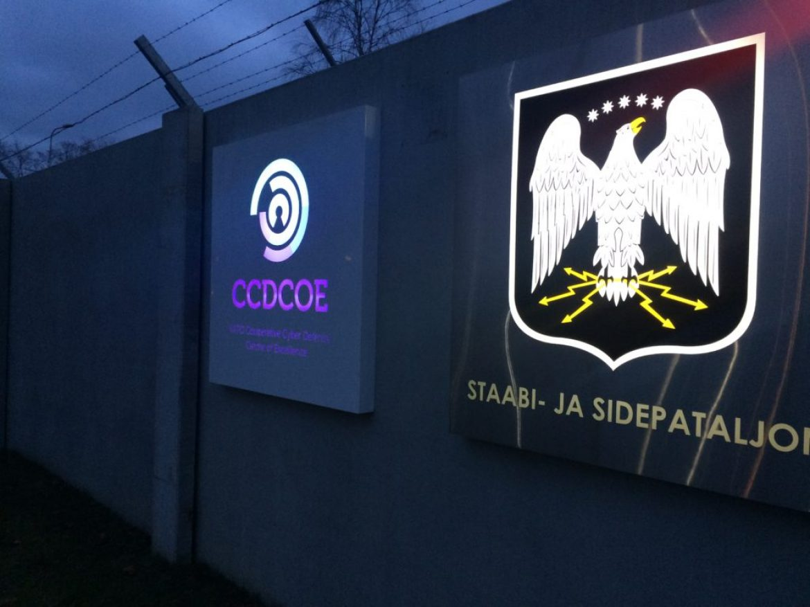 Nato cyber defence centre P10 lightboxes